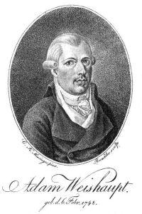 Adam Weishaupt by C. K. Mansinger (1799)