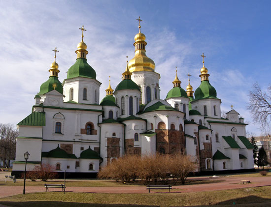 Holy Sophia Cathedral, Kiev, Ukraine