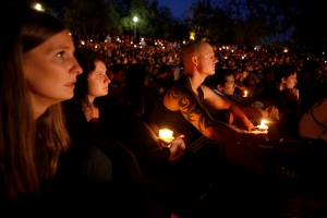 Candlelight Vigil in Isla Vista Copyright © 2014 Getty Images. All rights reserved.