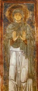 St. Macrina from St. Sophia Cathedral, Kiev