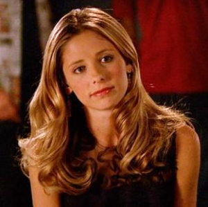 Sarah Michelle Geller as Buffy the Vampire Slayer