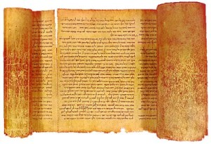 Great Isaiah Scroll from the Dead Sea Scrolls
