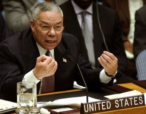 Colin Powell's infamous UN Speech