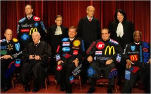 The 5 Supremes who have sold out to the Corporations in their new robes
