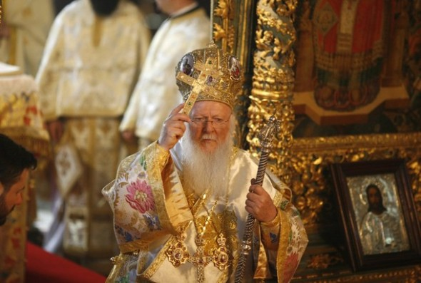 His All Holiness, Bartholemew I, Patriarch of Constantinople and New Rome.