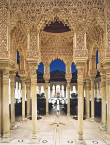 The Alhambra Palace in Granada