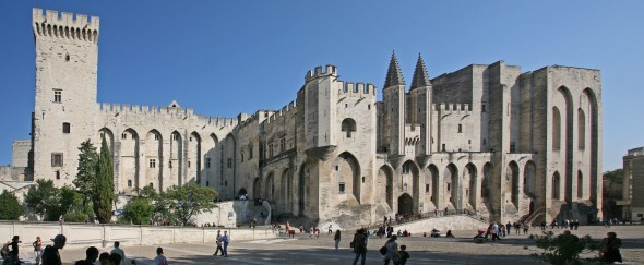 Palace of the Popes at Avignon, France