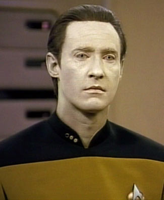 Lt. Data in the Star Trek Franchise. Image © Paramount Pictures