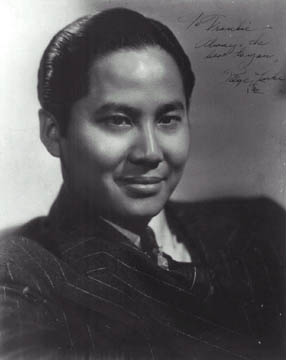 Keye Luke, Lee Chan in many of the Chan films.