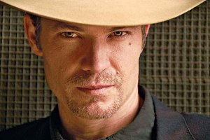 Timothy Olyphant as Raylan Givens on FX's Justified. © FX