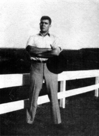 Robert E. Howard, as Two-Fisted as his heroes.