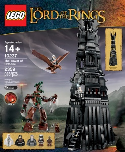 The Tower of Orthanc, my current Lego Project.