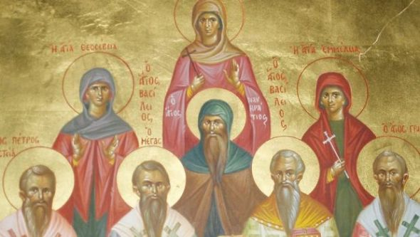 The Family of St. Basil, including Deaconesses