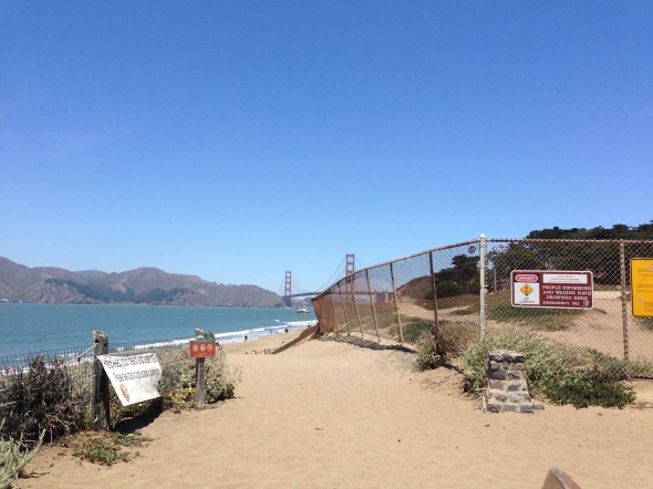 Baker Beach in SF, looking at the Future home of Star Fleet, to be founded in 2161. (Taken 6/19/15)