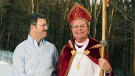 Bishop Gene Robinson and Mark Andrew