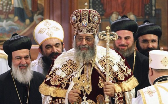 Pope Tawadros II. Photo: EPA