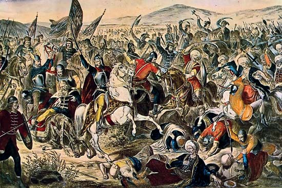Paolo Siccardi, The Battle of Kosovo