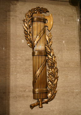 Fasces in the US House of Representatives