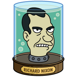 Richard Nixon in Futurama