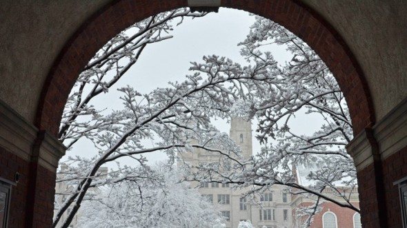 Silliman in Winter