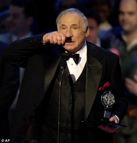 Mel Brooks at the 1971 Tony's winning Best Musical for The Producers