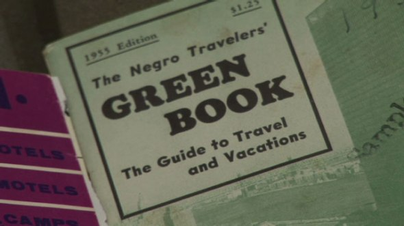 1955 Travel Guide for African-Americans to avoid prejudiced locations.