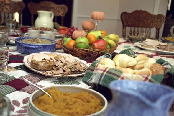 """TraditionalThanksgiving"" by Ben Franske - Own work. Licensed under GFDL via Commons -"