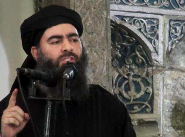 The leader of Daesh, Abu Bakr al-Baghdadi