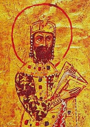 Roman Emperor Alexios I Komnenos βασιλεύς Ἀλέξιος Αʹ Κομνηνός
